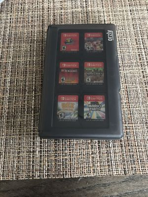A orzly Game Case with games for Sale in Oakland, CA