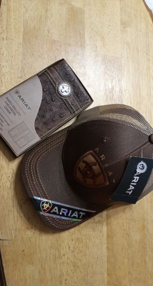 ARIAT wallet and hat for Sale in Houston, TX