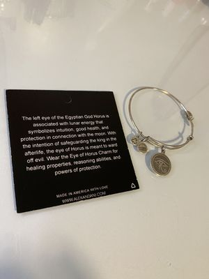 Alex and Ani - Eye of Horus Silver Bracelet for Sale in Pawtucket, RI