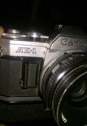 Canon AEI classic Film Camera Canon FD 50mm lens Automatic Film wonder for Sale in Sacramento, CA