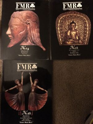 FMR The Magazine of Franco Maria Ricci art magazine lot of 17 for Sale in Los Angeles, CA