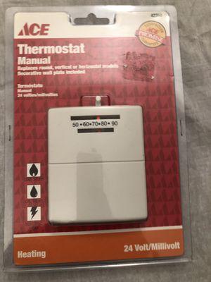 Ace new manual thermostat for Sale in La Mesa, CA