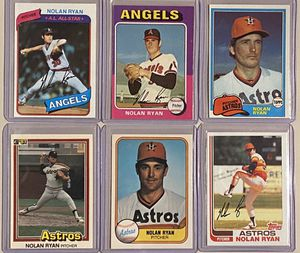 Nolan Ryan Vintage Baseball Cards for Sale in New Market, MD