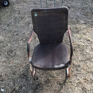 Metal Yard Chair for Sale in Denver, CO