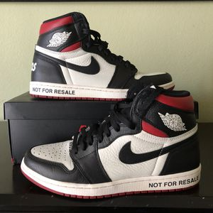 "Air Jordan 1 ""Not For Resale"" sz 10 for Sale in Byron, CA"
