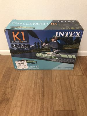 Intex K1 Charger Kayak for Sale in Austin, TX