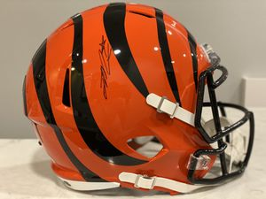 Joe Mixon signed speed replica. Clean! With COA for Sale in Normal, IL