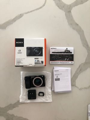 BRAND NEW SONY ALPHA 6000 - Open Box for Sale in Florida City, FL