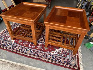 Pair of Side Tables - Price for Both for Sale in Holly Springs, NC
