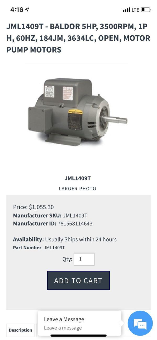 5hp well booster pump