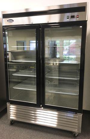 Double glass door commercial freezer for Sale in Kent, WA