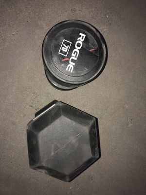 Rogue Fitness 70 Pound Dumbbells for Sale in Long Beach, CA