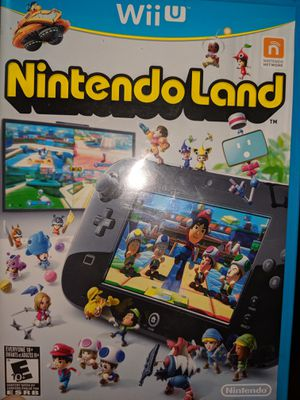 Wii u Nintendo land for Sale in Tarpon Springs, FL