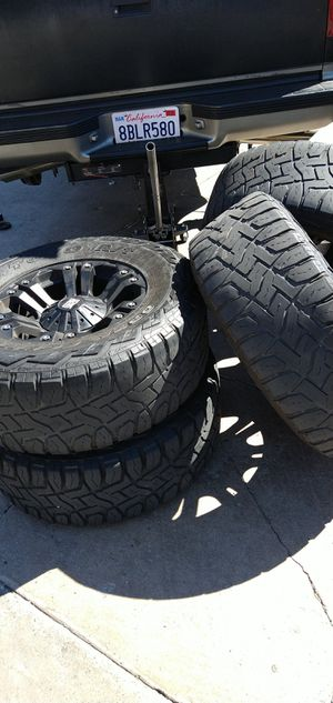 18 in rims and tires for sale for Sale in Los Angeles, CA