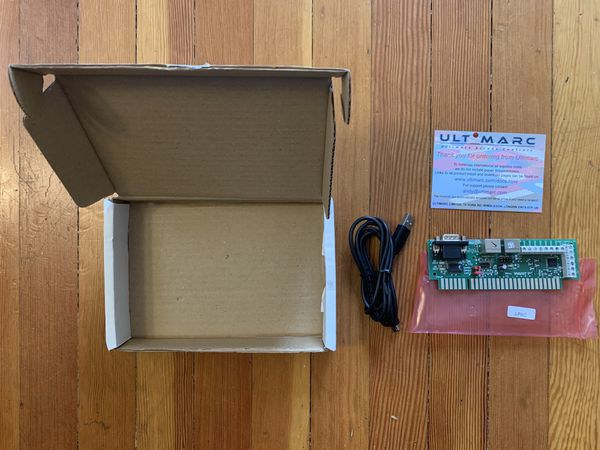 Ultimarc JPAC Computer JAMMA Arcade Cabinet Interface Board Emulation for  Sale in Portland, OR - OfferUp