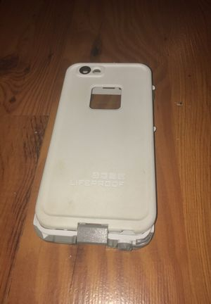 iPhone 6 life proof case white for Sale in Lodi, CA