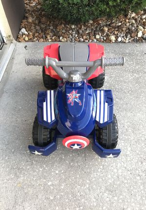 Captain America v6 Quad for Sale in Spring Hill, FL
