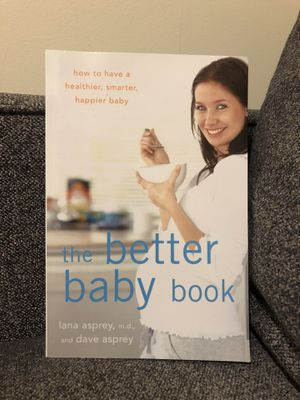 The Better Baby Book for Sale in Issaquah, WA