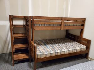 Wood bunk bed for Sale in Bend, OR