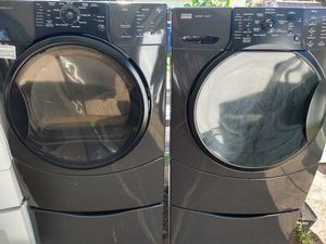 Kenmore Elite washer and dryer set with warranty for Sale in Fresno, CA