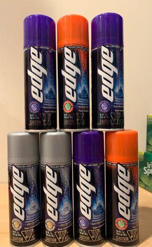 Edge shave gel 7 oz each for Sale in Alexandria, VA