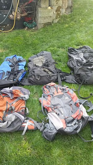 North face dottie pattison scout3400 exploree4000 30 dollars each for Sale in Federal Way, WA