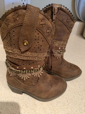 Baby/toddler girl boots for Sale in Veradale, WA
