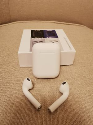 Bluetooth Earphone InPods 12 TWS Wireless Earbuds Headset With Mic for Sale in Walnut, CA