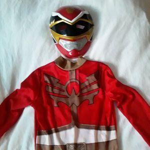 Children's Power Ranger Costume, Size 5/6 for Sale in Clovis, CA