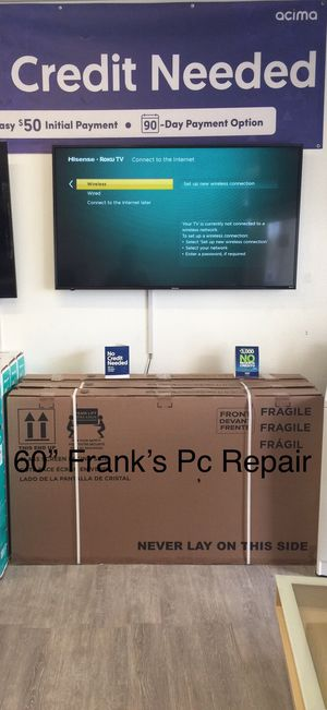60 INCH HISENSE ROKU SMART TV 📺 for Sale in Chino, CA