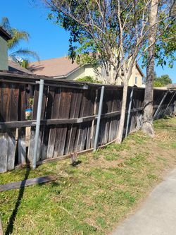 Free old wooden fence for Sale in Fontana,  CA