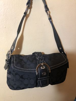 Black Braided Coach Bag for Sale in Capitol Heights, MD