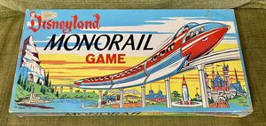 1960 DISNEYLAND MONORAIL BOARD GAME BY PARKER BROTHERS for Sale in Glendale, AZ