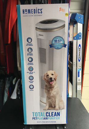 Homedics Pet Plus Air Purifier Oscillation for Sale in Houston, TX