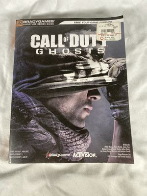 Call of Duty Ghosts Strategy Guide for Sale in Woodbury, CT