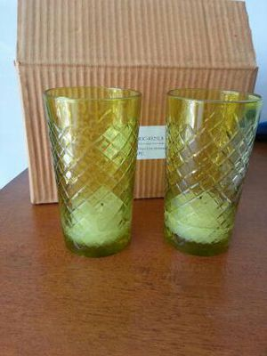 Green votive candle holders 36 for Sale in West Palm Beach, FL