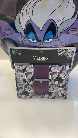 Disney villains loungefly wallet Retired for Sale in Nuevo, CA