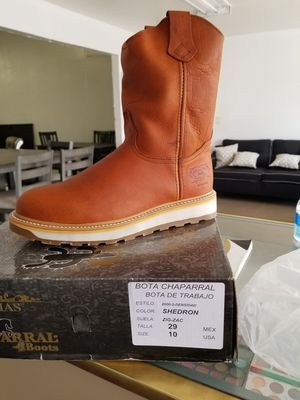 Chaparral Men's Work Boots for Sale in Fresno, CA