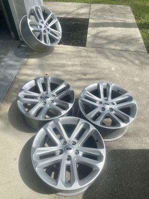 OEM Ford Explorer 18' rims for Sale in Fort Myers, FL