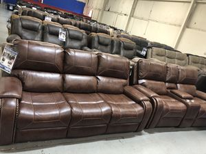 WINSLOW RECLINING SOFA AND LOVESEAT ONLY $1499! for Sale in Fort Wayne, IN