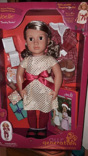 Our Generation deluxe Christmas doll new in box for Sale in Scottsdale, AZ