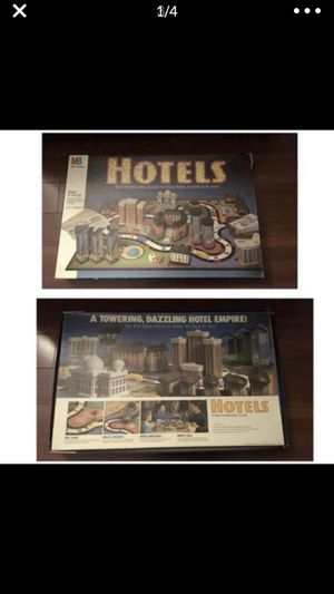 Hotels the Board Game by MB for Sale in Elk Grove Village, IL