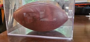 Framed Jerome Bettis Pittsburgh Steelers football for Sale in Forest, VA