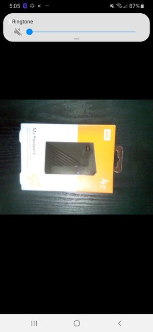 NIB WD MY PASSPORT 4TB for Sale in St. Louis, MO