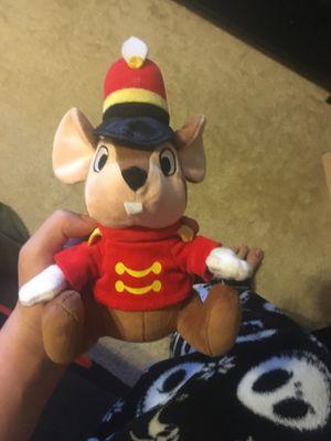 Timothy the mouse stuffed animal plush Disneyland from dumbo Disneyworld Disney park's for Sale in Oakley, CA