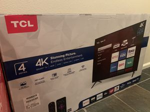 "TCL 43"" ROKU SMART TV for Sale in Marysville, WA"