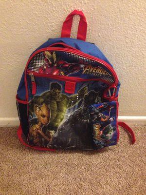 Marvel adventures infinity wars bag pack for Sale in Moreno Valley, CA