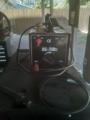 Stick welder 120 or 240 works good for Sale in Tracy, CA