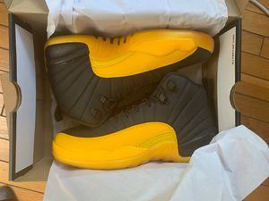 AIR JORDAN 12 RETRO UNIVERSITY GOLD SIZE 7Y - DS - 100% AUTHENTIC for Sale in Bowie, MD