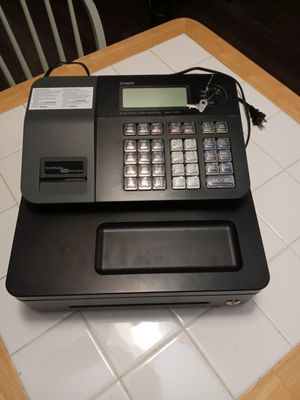 Casio electronic cash register for Sale in Minneapolis, MN